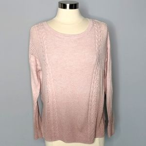American Eagle Ombre Pink Lightweight Sweater